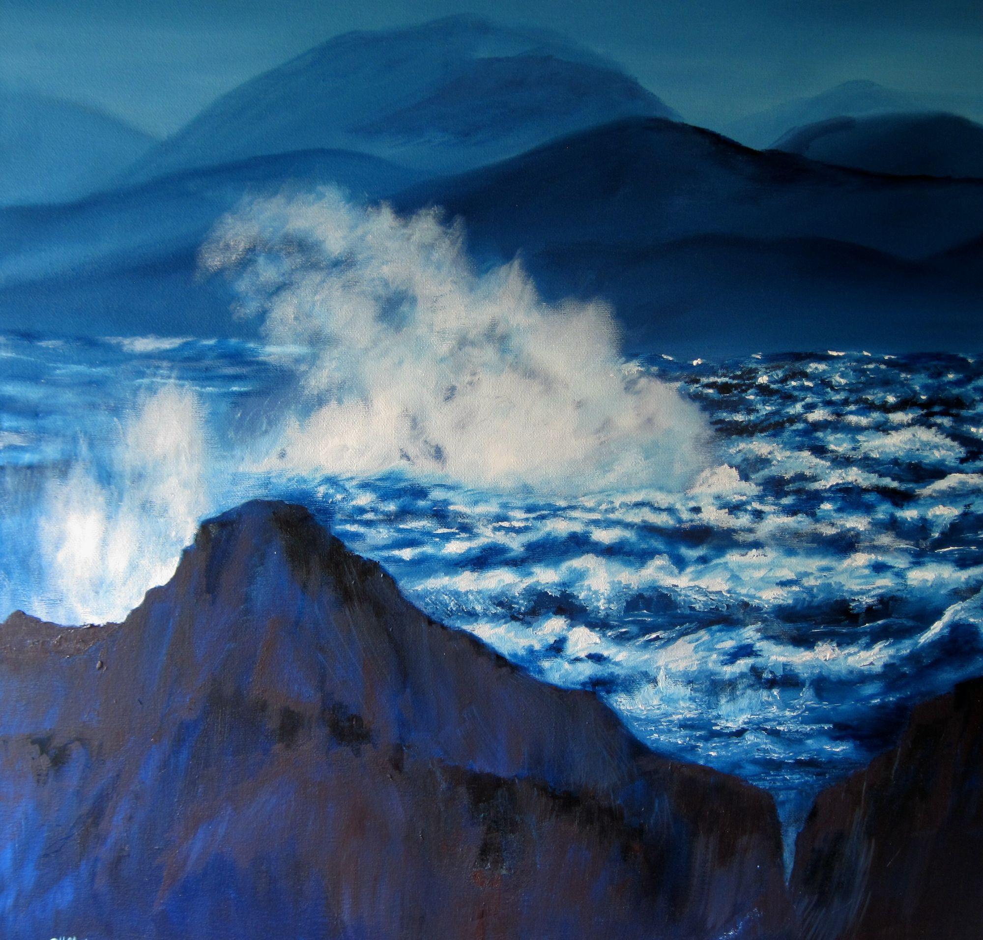 Stormy Seas, Skye